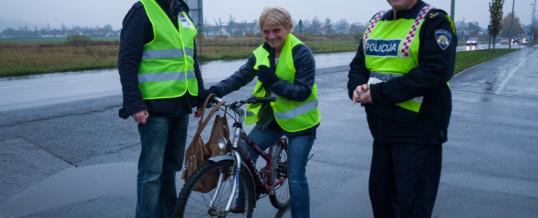 Obavijest o sudjelovanju biciklista u prometu