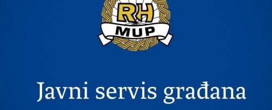 MUP RH – PU Brodsko-posavska – PP Vrpolje – Obavijest sudionicima u prometu