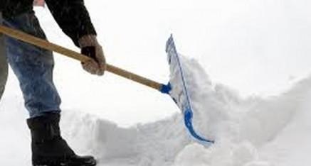 Obavijest o obvezi čišćenja snijega i leda