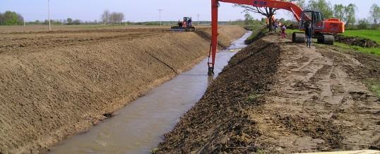 Održavanje detaljnih melioracijskih kanala