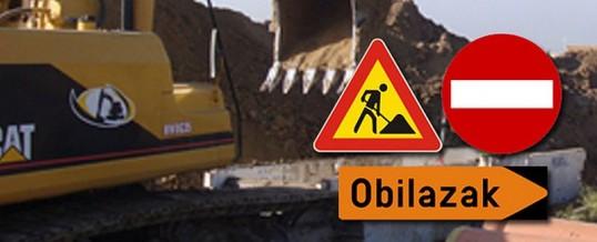 Obavijest – zatvaranje ceste u naselju Velika Kopanica zbog asfaltiranja kružnog toka