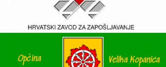 "Javni poziv nezaposlenim osobama – Javni rad ""Revitalizacija javnih površina"""