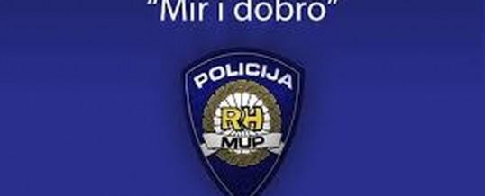 """Operativna akcija """"Mir i dobro"""" – PU Brodsko-posavska"""