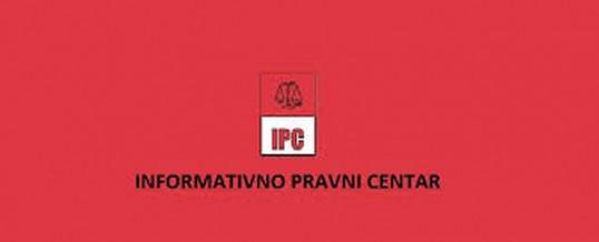 Besplatna pravna pomoć – Informativno pravni centar Slavonski Brod